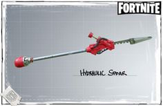 Fortnite - Hydraulic Spear - Concept Art