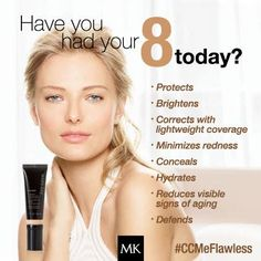 Mary Kay CC Cream in 4 shades.  Great for everyday wear - easy, fast, foolproof application that gives great coverage