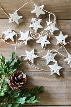 Handmade Air Dry Clay Christmas Ornaments 2019 Handmade Clay Tags: Information & Sources. Includes where to buy them how to make them and ways to use them in your decor. The post Handmade Air Dry Clay Christmas Ornaments 2019 appeared first on Clay ideas. Christmas Clay, Christmas Makes, Christmas Projects, Christmas Time, Christmas Stars, Christmas Ideas, Homemade Christmas Decorations, Diy Christmas Ornaments, Holiday Decorations