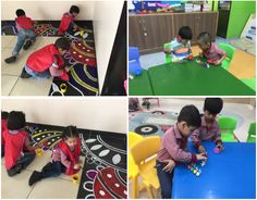 On the occasion of Diwali our young learners came dressed in their traditional Indian attire.They made beautiful pieces of art which included candles, torans, and wreaths. They painted and decorated the diyas. They helped the teachers to make Rangoli outside their classroom.