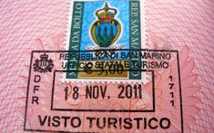 Republic of San Marino  It's not the hardest stamp to get a hold of, but it's certainly unique. This destination located in central Italy is the world's oldest, smallest republic.