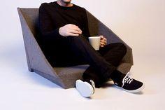 Oyster Chair – Conforto rente ao chão