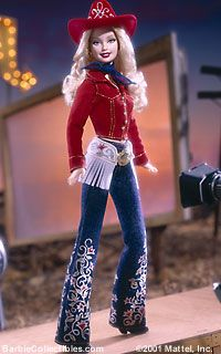 Looking for the Western Chic Barbie Doll? Immerse yourself in Barbie history by visiting the official Barbie Signature Gallery today! Barbie Style, Barbie Blog, Barbie And Ken, Barbie Vintage, Gi Joe, Poupées Barbie Collector, Westerns, Culture Pop, Western Chic
