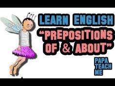 """ESL questions from students, this one focussing on the difference between prepositions. """"What's the difference between 'Think OF', and 'Think ABOUT'? English Prepositions, Learn English, Esl, Students, Teaching, Youtube, Learning English, Education, Youtubers"""
