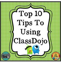 Technology Thursday: ClassDojo How-to and Top Tips- Student management and motivation all in one!