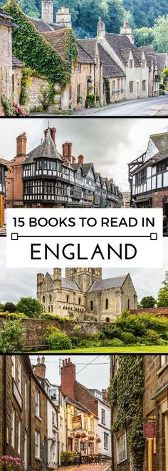 15 books to read in England, from novels set in London to books about the destinations further afield. #england #books #uk