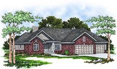 Traditional Ranch Home Plan - 8909AH thumb - 02