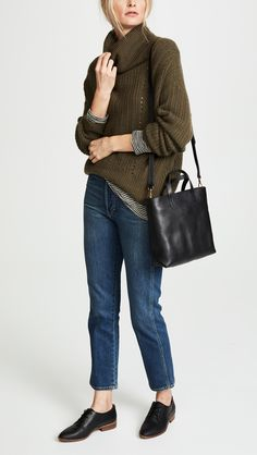 Madewell The Transport Crossbody Bag Madewell Transport Tote, Madewell Tote, China Fashion, Chic Outfits, Trendy Outfits, Girl Outfits, Capsule Wardrobe, Crossbody Bag, Tote Bag