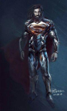 Superman redesign, Roland Sanchez on ArtStation at… Poster Marvel, Marvel Dc Comics, Poster Superman, Posters Batman, Superman Artwork, Dc Comics Art, Marvel Vs, Captain Marvel, Captain America