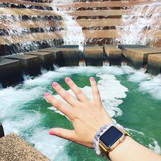 Christina Marlene Jewelry (@christina_marlene.2012) It's a water garden kind of day #christinamarlene #handmadejewelry #jewelrygram #stackables