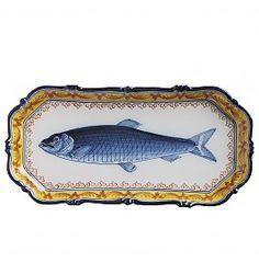 Herring tray, handdecorated