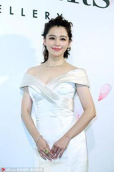 Actress Vivian Hsu attends a commercial event in Taipei on April 12. http://www.chinaentertainmentnews.com/2016/04/star-tracks-in-april_29.html