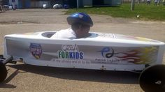 Digital Marketing Tips for Small Business: Quad A for Kids Soap Box Derby Car