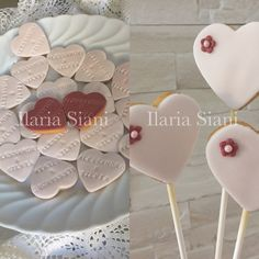 Biscottini da matrimonio sui toni del rosa chiaro e bordeaux 👰🏻💍🎩 #instafood #ilas #ilassweetness #biscotti #matrimonio #wedding #robertatorresan www.ilas.webnode.it www.facebook.com/ilascake