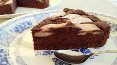 Pastel de Chocolate y Pera