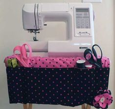 Free Sewing Pattern and Tutorial - Sewing Caddy