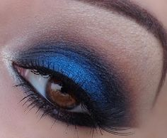 Sapphire; I wear my eye make up like this most of the time!
