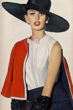 Dorothea McGowan, photo by Irving Penn, Vogue Jan. 1962