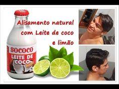 LEITE DE COCO COM LIMÃO, ALISA ? - YouTube