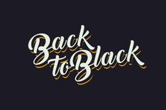 Back to Black Script