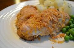 Garlic Cheddar Chicken with with garlic and cheddar breadcrumb. Garlic Parmesan Chicken, Bread Crumbs, Cheddar, Chicken Recipes, Meat, Food, Cheddar Cheese, Eten, Meals