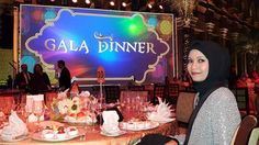 My table #10  — di Emirates Palace. Photo dan caption by kak vonita  #OriflameDiamondConference2016