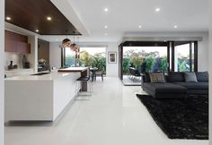 Love the kitchen ceiling - Metricon Homes