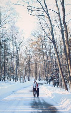 Winter Engagement Session with @Ping Photography Wu