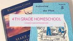 Homeschool Curriculum Ideas for and Grade Homeschool Curriculum, Homeschooling, Confessions, Lesson Plans, Encouragement, Language, Bible, Coding, Science
