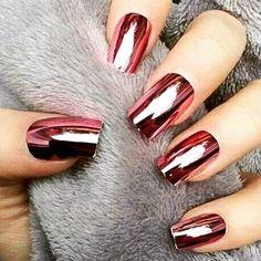 Metallic pink nails 💓 follow fab feed @cinnamon_in_style for more great daily inspo 🔝👌🏼 Pic unknown 😶 anyone? . . . . . . #nails #nail #fashion #style #TagsForLikes #cute #beauty #beautiful #instagood #pretty #girl #girls #stylish #sparkles #styles #gliter #nailart #art #opi #photooftheday #essie #unhas #preto #branco #rosa #love #shiny #polish #nailpolish #nailswag