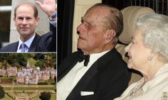 Let's get this party started! The Queen and Prince Philip arrive for Prince Edward's 50th birthday at his Surrey estate Queen and Prince Philip's youngest son Edward turns 50 tomorrow Celebrations being held today at his family home in Bagshot Park