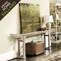 Ananda Serving Table | console for behind sofa | Pinterest | Serving ...