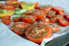 Saus van geroosterde tomaten