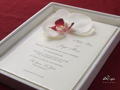 Simple and Elegant Wedding Invitation