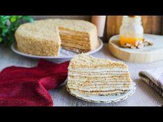 TORT MEDOVIK (CU MIERE) PAS CU PAS I Valerie's Food - YouTube Baking Classes, Dessert Recipes, Desserts, Ibiza, Christmas Cookies, Recipies, Menu, Bread, Cakes