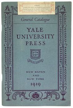 Optometry yale college blue book