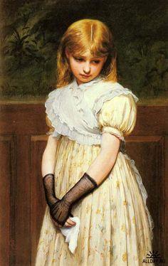 Английский художник Charles Sillem Lidderdale (1830 - 1895)