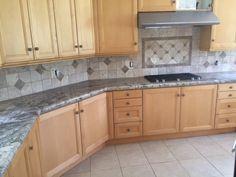 What Is Travertine Tile? A Beautiful Kitchen Backsplash...Ankara U0026 Troy  Install