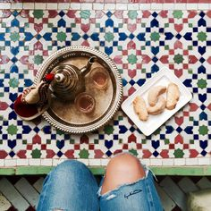 "732 Likes, 10 Comments - bakchic باكشيك (@bakchic_thelabel) on Instagram: ""On the Floor...#minttea #morocco #travel #love"""