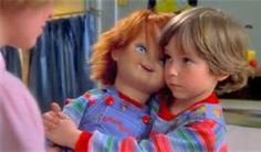 John's Horror Corner: Child's Play the classic evil doll movie introducing us to Chucky and Brad Dourif's menace! Child's Play Movie, Film Movie, Classic Horror Movies, Horror Films, Horror Art, Keanu Reeves, Good Guy Doll, Chucky Movies, Dolls Film