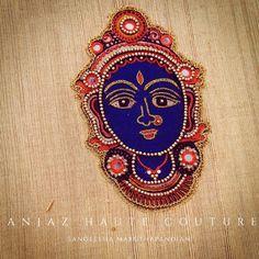 Aari Modern Blouse Designs, Best Blouse Designs, Saree Blouse Neck Designs, Zardozi Embroidery, Embroidery Motifs, Embroidery Designs, Purple Pages, Kalamkari Painting, Aari Work Blouse