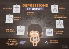 Statisticamente, per ogni individuo, la probabilità di ammalarsi di #depressione in un anno è del 15% e nell'arco della vita del 20%. Le persone più a rischio sono le donne e i giovani ma interessa tutti e in tutte le fasce di età. #sintomi #salute