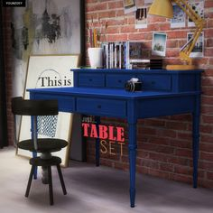 Sims 4 CC's - The Best: Table Set by Youn-zoey
