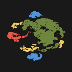 Check out this awesome 'Avatar+Map+Color' design on @TeePublic!
