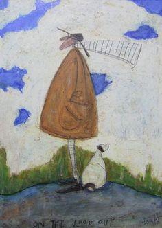 On The Look Out   John Noott Galleries - Sam Toft, artist