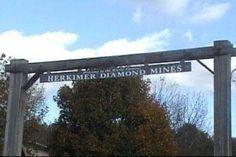 Digging for Herkimer Diamonds