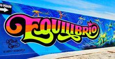 """""""Festival Equilibrio"""", primer festival de arte urbano, Perú 2013.."""