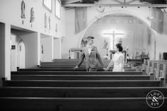 Traditional Church Ceremony.   Bommer Canyon Wedding, Photography by Clove and Kin