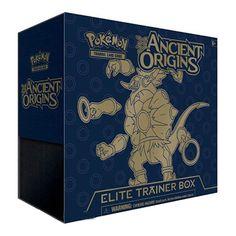 1 X Pokemon Trading Card Game: XY - Ancient Origins Sealed Elite Trainer Box