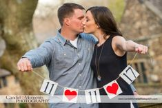 Ridley Creek State Park, Delaware County, Pennsylvania, Engagement Photos, Engagement Ideas, Summer, Park, Candid Moments Photography, Woods, Nature, Trees, Banner, Idea